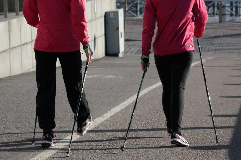 Nordic walking: severská chůze hubnutí